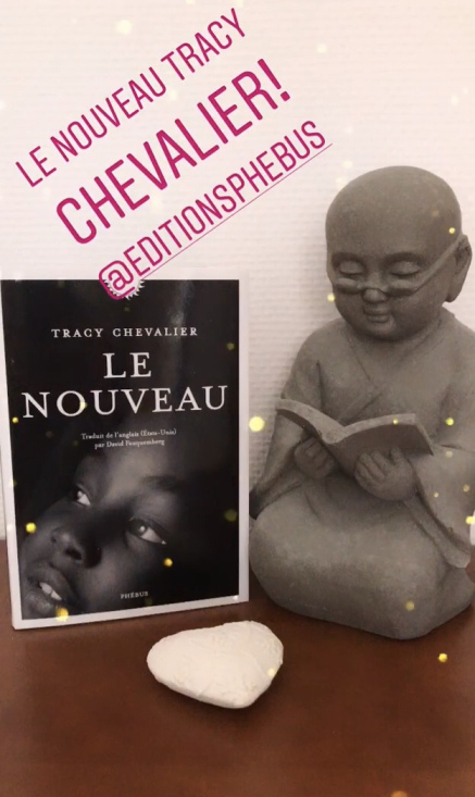 le nouveau Tracy Chevalier éditions Phebus